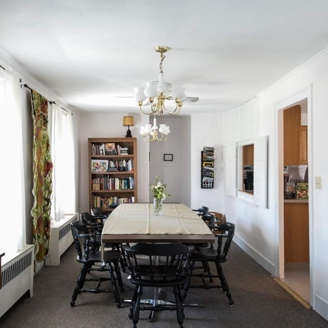 Resident's dining area.